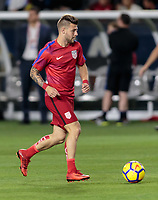 Carson, CA - Sunday January 28, 2018: Paul Arriola during an international friendly between the men's national teams of the United States (USA) and Bosnia and Herzegovina (BIH) at the StubHub Center.