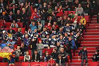 Jubelnde Zuschauer im Globen<br /> Djurgardens IF vs. Lelea HF<br /> *** Local Caption *** Foto ist honorarpflichtig! zzgl. gesetzl. MwSt. Es gelten ausschließlich unsere unter <br /> <br /> Auf Anfrage in höherer Qualitaet/Aufloesung. Belegexemplar an: Marc Schueler, Am Ziegelfalltor 4, 64625 Bensheim, Tel. +49 (0) 6251 86 96 134, www.gameday-mediaservices.de. Email: marc.schueler@gameday-mediaservices.de, Bankverbindung: Volksbank Bergstrasse, Kto.: 151297, BLZ: 50960101