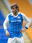 St Johnstone FC season 2017-18<br />Murray Davidson<br />Picture by Graeme Hart.<br />Copyright Perthshire Picture Agency<br />Tel: 01738 623350  Mobile: 07990 594431