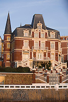 """Europe/France/Normandie/Haute-Normandie/76/Seine-Maritime/Le Havre: Restaurant """"La Villa"""" dans l'ancienne  maison bourgeoise du XIX Siècle  d'Armand Salacrou"""