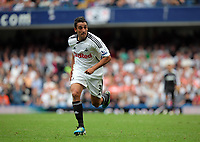 Pictured: Neil Taylor of Swansea. Saturday 17 September 2011<br />