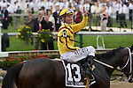 Calvin Borel and Rachel Alexandra are number one in The Preakness Staks