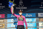 Wout Van Aert (BEL) Team Jumbo-Visma Stage 1 and wears the first points Maglia Ciclamino of Tirreno-Adriatico Eolo 2021, running 156km from Lido di Camaiore to Lido di Camaiore, Italy. 10th March 2021. <br /> Photo: LaPresse/Gian Mattia D'Alberto   Cyclefile<br /> <br /> All photos usage must carry mandatory copyright credit (© Cyclefile   LaPresse/Gian Mattia D'Alberto)