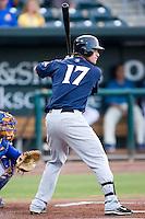 Matt Gamel (17) of the Huntsville Stars at bat at the Baseball Grounds in Jacksonville, FL, Thursday June 12, 2008.