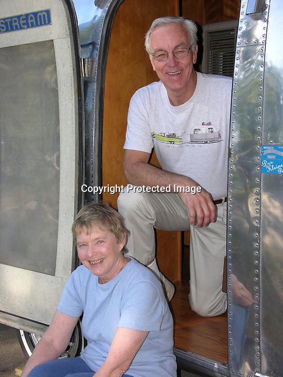 Portrait of a senior couple.