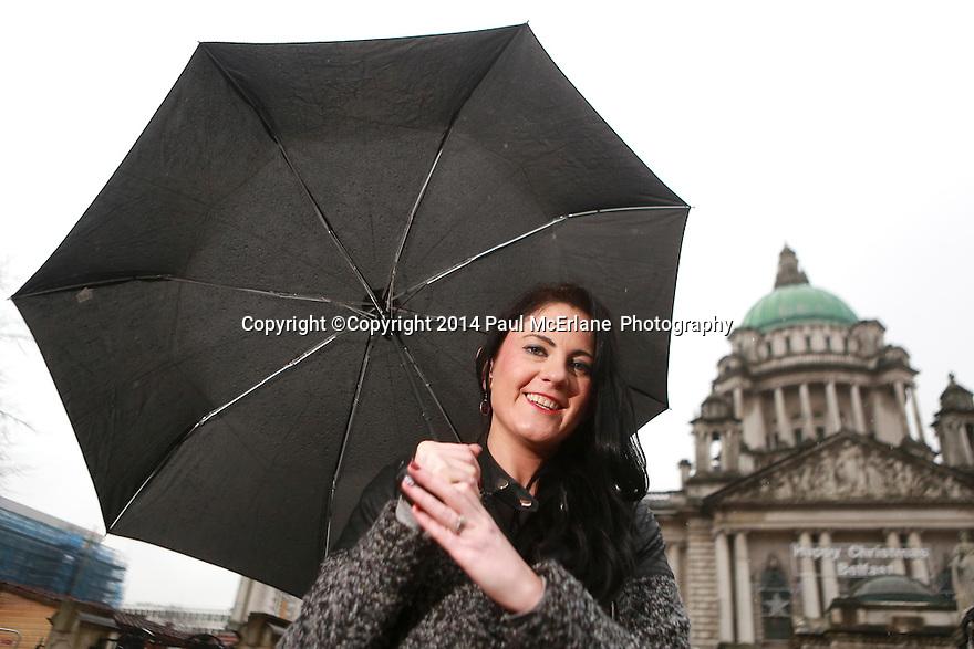 Belfast city councillor Julia-Ann Corr Johnston of the Progressive Unionist Party. Photo/Paul McErlane