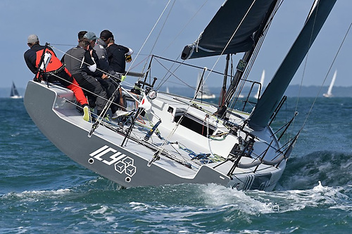 Melges IC37 sailing