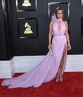 Jennifer Lopez @ the 59th Annual GRAMMY Awards held @ the Microsoft Theatre.<br /> February 12, 2017 , Los Angeles, USA. # 59EME GRAMMY AWARDS 2017