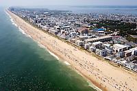 Aerial Ocean City MD Maryland Beach