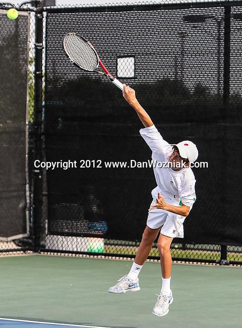 Arlington, Texas, USA - May 14:  USTA Boy's and Girl's National Junior Tournament. Photo by Dan Wozniak, www.DanWozniak.com