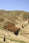 Judean desert, the Herodian aqueduct in Wadi Qelt that carried water from Ein Prat to Jericho