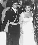 Michael Jackson 1986 American Music Awards with Elizabeth Taylor