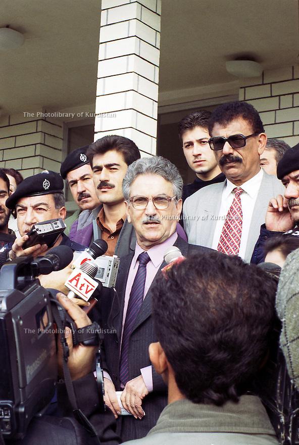 Irak 2000 Sami Abdul Rahman, interview avec la television kurde Iraq 2000  Sami Abdul Rahman, interview with the Kurdish television