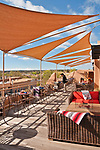 Rooftop bar at La Fonda Hotel, the oldest and best known hotel in Santa Fe since 1929