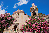 Church of St. Guiseppe on the Plaza ix Aprile  - Taormina, Sicily