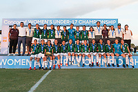 Bradenton, FL - Sunday, June 12, 2018: CONCACAF Awards, Mexico during a U-17 Women's Championship Finals match between USA and Mexico at IMG Academy.  USA defeated Mexico 3-2 to win the championship.