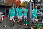 17.10.2020, Schwarzwald Stadion, Freiburg, GER, 1.FBL, SC Freiburg vs SV Werder Bremen<br /> <br /> im Bild / picture shows<br /> Leonardo Bittencourt  (Werder Bremen #10)<br /> Milos Veljkovic (Werder Bremen #13)<br /> Theodor Gebre Selassie (Werder Bremen #23)<br /> Ludwig Augustinsson (Werder Bremen #05)<br /> Joshua Sargent (Werder Bremen #19)<br /> Maximilian Eggestein (Werder Bremen #35)<br /> Christian Groß / Gross (Werder Bremen #36)<br /> <br /> Foto © nordphoto / Bratic<br /> <br /> DFL REGULATIONS PROHIBIT ANY USE OF PHOTOGRAPHS AS IMAGE SEQUENCES AND/OR QUASI-VIDEO.