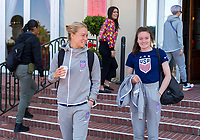 La Havre, FRA - June 21, 2019:  The USWNT after their last group stage match at the FIFA Women's World Cup.