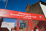 Brentford 0 Doncaster Rovers 1, 27/04/2013. Griffin Park, League One. Griffin Park hosts a showdown between two clubs aiming for automatic promotion from League One. The entrance for the away support on Brook Road. Photo by Simon Gill.