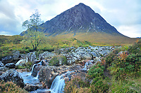 """SC - Prov. LOCHABER<br /> Highland Crossing from Glencoe to Rannoch Moor:<br />  Buachaille Etive Mor, 1022 m, """"The Guard""""<br /> <br /> Full size: 69,3 MB"""
