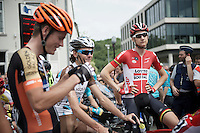 Tim Wellens (BEL/Lotto-Soudal) at the start of the 2015 Belgian Championships