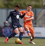 06.05.2019 Falkirk v Rangers reserves: Lewis Kidd and Graham Dorrans