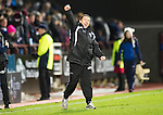 Hearts v St Johnstone....11.01.11  Scottish Cup.Derek McInnes celebrates at full time.Picture by Graeme Hart..Copyright Perthshire Picture Agency.Tel: 01738 623350  Mobile: 07990 594431