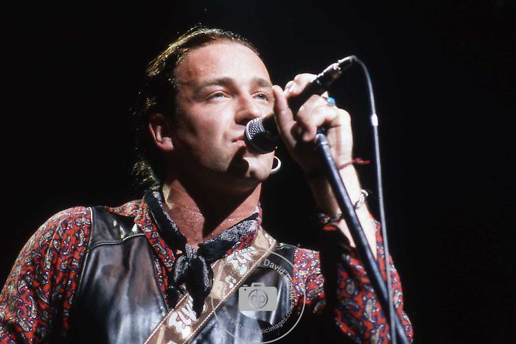 Bono of U2, 1987
