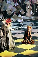 MANAUS, AM, 05.05.2019: ÓPERA-MANAUS. XXII Festival Amazonas de Ópera, com a apresentação da Ópera MARIA STUARDA, de Gaetano Donizetti, na noite deste domingo (5), no Teatro Amazonas, no centro de Manaus. O festival começou no dia 26 de abril, e vai até o dia 30 de maio. <br /> Foto: Sandro Pereira/Codigo19