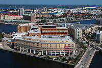 aerial photograph Tampa General Hospital, Tampa, Florida