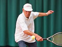 August 22, 2014, Netherlands, Amstelveen, De Kegel, National Veterans Championships, Wim Heeremans<br /> Photo: Tennisimages/Henk Koster