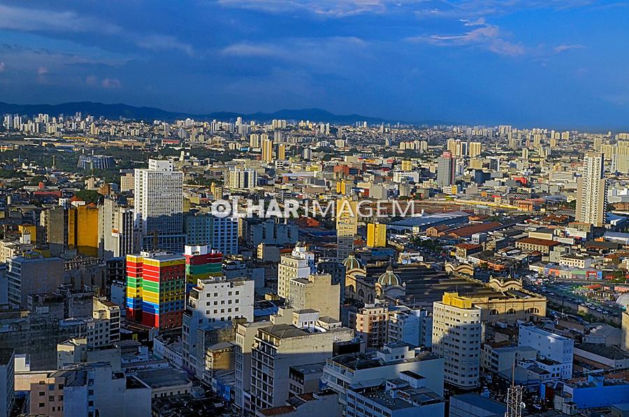 Centro de Sao Paulo, Mirante Santander/Banespa. 2019. Foto © Juca Martins