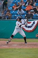 Visalia Rawhide catcher Tim Susnara (6) during a California League game against the San Jose Giants on April 13, 2019 at San Jose Municipal Stadium in San Jose, California. Visalia defeated San Jose 4-2. (Zachary Lucy/Four Seam Images)