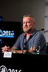 "Producer Casey Walker during the press conference of the presentation of ""The Void"" at Festival de Cine Fantastico de Sitges in Barcelona. October 08, Spain. 2016. (ALTERPHOTOS/BorjaB.Hojas)"