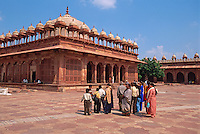 Indien,  Uttar Pradesh, Fatehpur Sikro, in der Moschee (Jama Masjid), Unesco-Weltkulturerbe