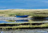Boat Meadow Creek, Orleans, Cape Cod, Massachusetts, USA