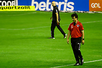 23rd August 2020; Estadio Ilha do Retiro, Recife, Pernambuco, Brazil; Brazilian Serie A, Sport Recife versus Sao Paulo; Sao Paulo manager Fernando Diniz at the start of the game