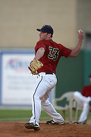 August 16 2009: Jack Tilghman of the Lancaster JetHawks during game against the Bakersfield Blaze at Clear Channel Stadium in Lancaster,CA.  Photo by Larry Goren/Four Seam Images