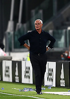 Calcio, Serie A: Juventus - Sampdoria, Turin, Allianz Stadium, September 20, 2020.<br /> Sampdoria's coach Claudio Ranieri during the Italian Serie A football match between Juventus and Sampdoria at the Allianz stadium in Turin, September 20,, 2020.<br /> UPDATE IMAGES PRESS/Isabella Bonotto