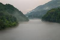 Foggy Afternoon<br /> Drina River<br /> Tara National Park<br /> Serbia