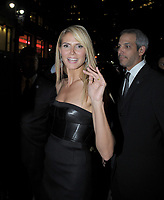 NEW YORK - JUNE 23: Model Heidi Klum attends the launch of Trump International Hotel and Tower Dubai on June 23, 2008 at the Park Avenue Plaza in New York City. <br /> <br /> <br /> People:  Heidi Klum