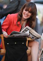 RACHEL BILSON 2008<br /> ON MOVIE SET ''NEW YORK,I LOVE YOU'' <br /> Photo By John Barrett/PHOTOlink