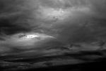 Stratocumulus Clouds toward sunset