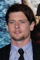 """HOLLYWOOD, LOS ANGELES, CA, USA - MARCH 04: Jack O'Connell at the Los Angeles Premiere Of Warner Bros. Pictures And Legendary Pictures' """"300: Rise Of An Empire"""" held at TCL Chinese Theatre on March 4, 2014 in Hollywood, Los Angeles, California, United States. (Photo by Xavier Collin/Celebrity Monitor)"""