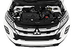 Car stock 2020 Mitsubishi Mitsubishi ASX ASX Diamond Edition 5 Door SUV engine high angle detail view