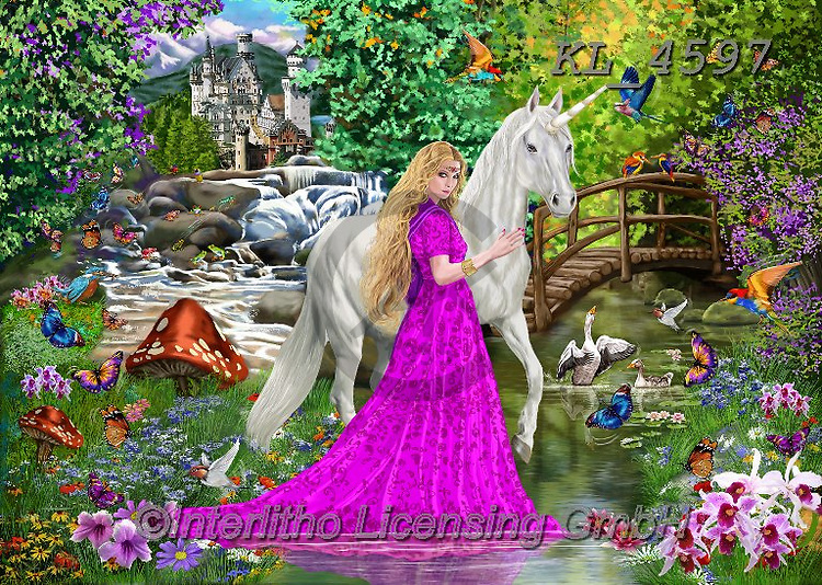 Fantasy paintings
