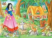 Interlitho, Nino, CUTE ANIMALS, puzzle, paintings, snow white, animals(KL3915,#AC#) illustrations, pinturas, rompe cabeza