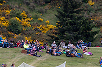 20th November 2020; John Davies Oval, Queenstown, Otago, South Island of New Zealand. New Zealand A versus  West Indies, Fans gather on the boundary slopes