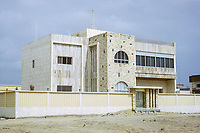 Kuwait March 1972.  Newly-finished House in Modern Style of the Early 1970s.