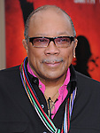 Quincy Jones at the Columbia pictures L.A. Premiere of The Karate Kid held at The Mann Village Theatre in Westwood, California on June 07,2010                                                                               © 2010 Debbie VanStory / Hollywood Press Agency